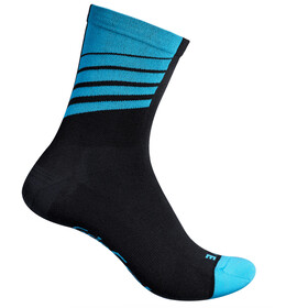 GripGrab Racing Stripes Cycling Socks Black/Blue